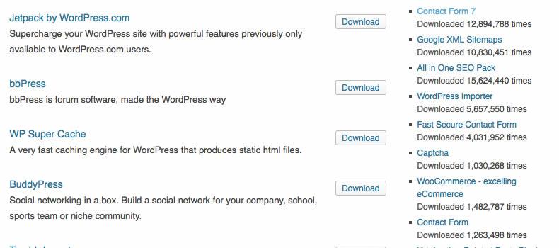 Wordpressプラグインとは?