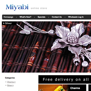 Miyabilondon - イギリスの美しいCharm、Silver Jewelryを販売する会社のショップ