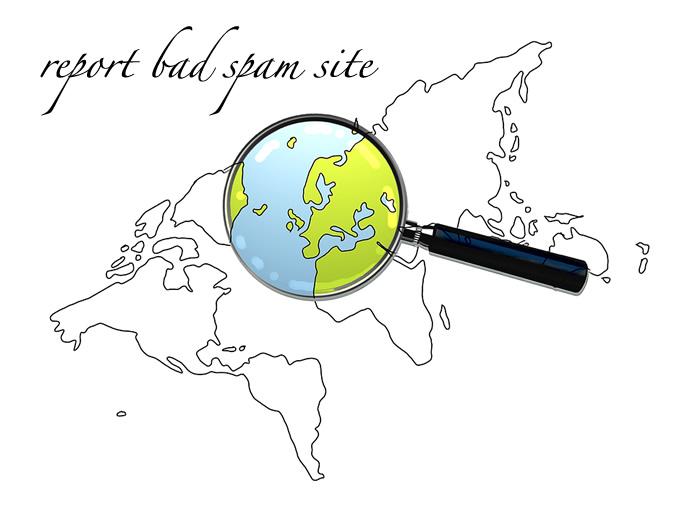 検索エンジンスパムGoogleに報告
