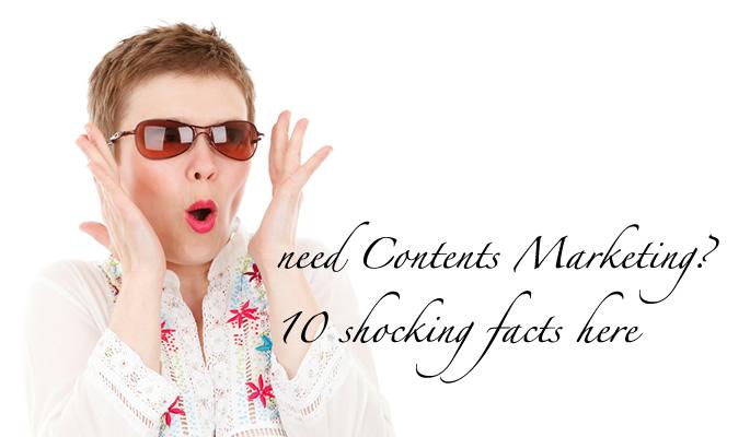驚くべき10のコンテンツマーケティングの現状