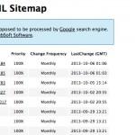 Google検索エンジンに全ページをsitemap.xmlでインデックス登録するWordPressプラグイン「Google sitemap plugin」