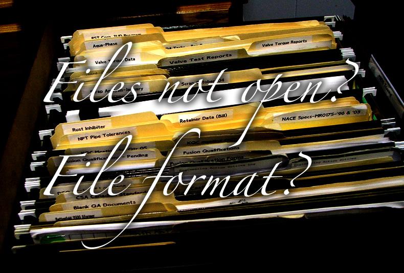 ファイルが開かない。ファイル形式(拡張子)?ファイルの扱いの基本。