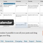 カレンダーでホームページ更新を簡単に。投稿スケジュールをカレンダーで管理したい。WordPressの便利なプラグイン「Editorial Calendar」