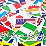 サイトを英語化する時に注意する点。英語/日本語/フランス語/中国語/韓国語など多言語サイトを検索エンジンに登録。