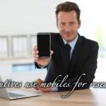 経営層もモバイルを多用-B2Bでのサイトのモバイル最適化の必要性。ネット利用率でモバイル(スマートフォン)がパソコンを超えた。