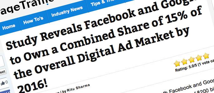検索エンジン広告シェアの未来予想、研究者の報告