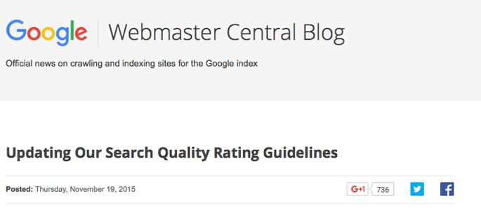 Googleが公式にSEOのガイドラインを公開