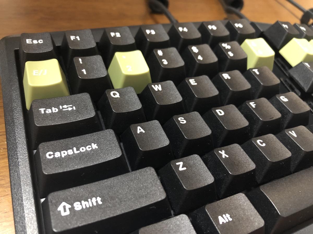 FILCOのキートップに変更左側